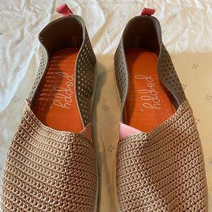 Crochet Slip-On Breathable Shoes Memory Foam Soles